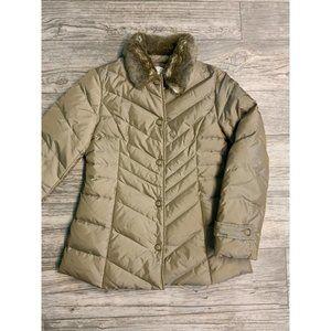 LOFT Feather Duck Down Puffer Jacket
